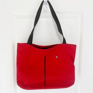 Red Victorinox Tote Bag